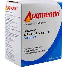 Augmentin Pediátrica 60 ML Suspensión Frasco