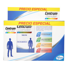 Centrum Gender Hombres Vitaminas y Minerales Pack