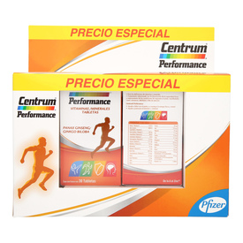 Centrum Performace 2 Frascos con 30 Tabletas c/u