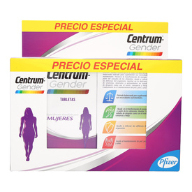 Centrum Gender Mujeres Vitaminas y Minerales Pack