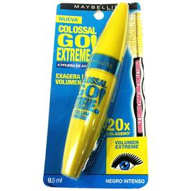 Maybelline Colossal go extreme waterproof