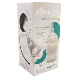 Evenflo Advanced Mamila con Doble Válvula Anticólicos de 5Oz