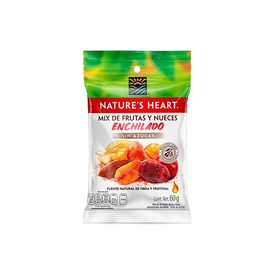 Nature´s Heart Mix De Frutas Y Nueces Enchiladas Sin Azúcar