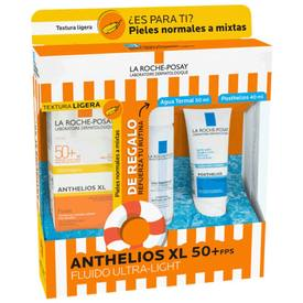 La Roche Posay anthelios XL FPS50+  Fluido Ultra Light 50ML + Agua Termal 50Ml+ Posthelios 40Ml