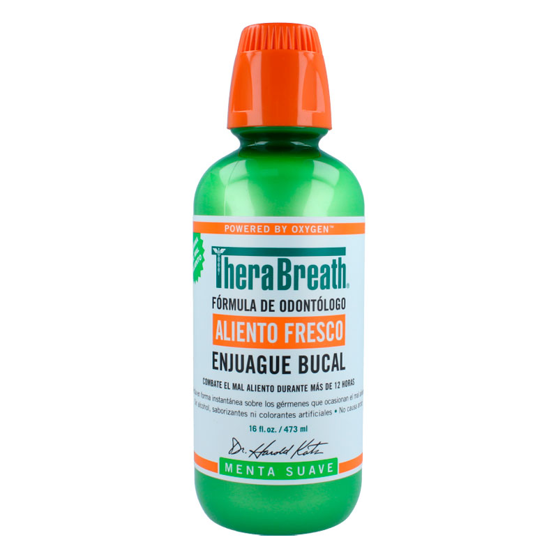 Therabreath Enjuague Bucal Sabor Meta Suave Sin Alco